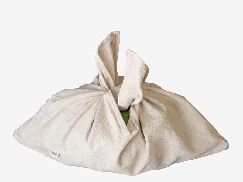 bento bolsa de algodón para anudar bagloop